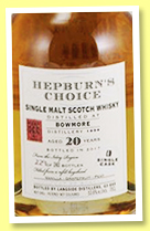 Bowmore 20 yo 1996/2017 (53.6%, Hepburn's Choice for SCSM China, bourbon, 243 bottles)