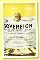 Cambus 30 yo 1988/2018 (45.2%, Hunter Laing, The Sovereign, for The Whisky Barrel, refill hogshead, cask #14857, 313 bottles)