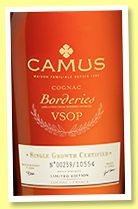 Camus 'Borderies VSOP' (40%, OB, 2015)