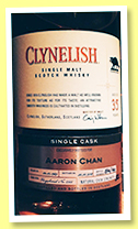 Clynelish 35 yo 1983/2018 (52.2%, OB, Casks of Distinction, for Aaron Chan, hogshead, cask #2566, 144 bottles)