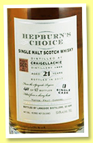 Craigellachie 21 yo 1995/2017 (53.6%, Hepburn's Choice for SCSM, China, sherry butt, 627 bottles)