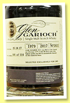 Glen Garioch 1979/2017 (42.9%, OB, for CWS China, first fill sherry butt, cask #3831, 114 bottles)