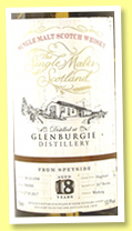 Glenburgie 18 yo 1998/2017 (53.9%, The Single Casks of Scotland, hogshead, cask #900900, 267 bottles)