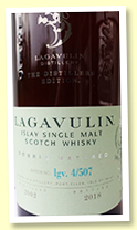 Lagavulin 2002/2018 Distiller's Edition (43%, OB, lgv 4/507)