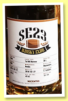 Mackmyra 2013/2018 (49.4%, OB, Sweden, for SE23 whisky club, 1st fill oloroso, cask #7404)