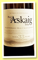 Port Askaig 33 yo (50.3%, Elixir Distillers, Impex Beverages USA, 2018)