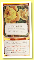 Rosebank 21 yo 'The Roses Edition III - Jealousy' (52.5%, Elixir Distillers, 695 bottles)