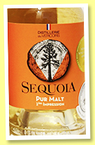 Sequoia 'Pure Malt 1ère Impression (46%, OB, Distillerie du Vercors, France, 2018)
