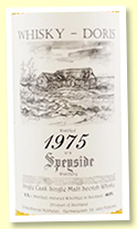 Speyside Region 41 yo 1975/2016 (46.9%, Whisky Doris, fino sherry, cask #22, 220 bottles)