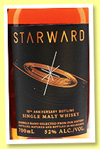 Starward '10th Anniversary' (52%, OB, Australia, single malt, 2017)