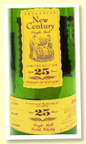 Tamnavulin 25 yo 1974/2000 'New Century' (45%, OB, casks #5989-5993)