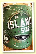 The Island Star 10 yo (50%, North Star 'Millennial Range', single refill hogshead, 300 bottles)