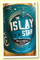 The Islay Star 11 yo (50%, North Star 'Millennial Range', single refill hogshead, 300 bottles)
