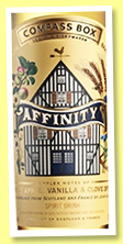 Affinity (46%, Compass Box, blend of Scotch Whisky & Calvados, 6,028 bottles, 2019)