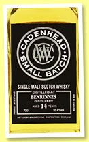 Benrinnes 14 yo 2004/2018 (55.4%, Cadenhead, Small Batch, 864 bottles)