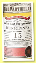 Benrinnes 15 yo 1999/2014 (64.6%, Douglas Laing for La Maison du Whisky, sherry butt, cask #DL10102, 579 bottles)