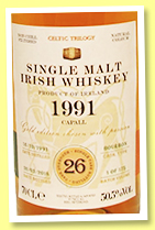 Capall 26 yo 1991/2018 (50.5%, The Whisky Cask Company, first fill bourbon barrel, 175 bottles)