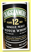 Cragganmore 12 yo (45.7%, OB, for D.&J. MacCallum Edinburgh, +/-1980)