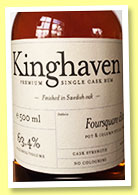 Foursquare 13 yo 2005/2019 (63.4%, Kinghaven, Barbados)