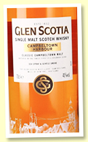 Glen Scotia 'Campbeltown Harbour' (40%, OB, 2018)