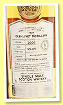 Glenlivet 15 yo 2003/2018 (59.4%, Gordon & MacPhail, Connoisseurs Choice for The Whisky Exchange, refill bourbon barrel, cask #18/991, 176 bottles)