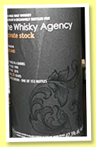 Irish Single Malt 28 yo 1990/2019 (47.3%, The Whisky Agency, Private Stock, barrel)