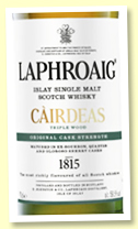 Laphroaig Càirdeas Triple Wood Cask Strength (59.5%, OB, Feis Ile 2019, 36,000 bottles)