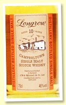 Longrow 10 yo (46%, OB, rotation 2010)