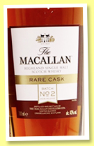 Macallan 'Rare Cask Batch No2' (43%, OB, 2018)