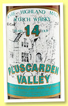 Pluscarden Valley 14 yo (57.4%, Sestante, 75cl, +/-1985)