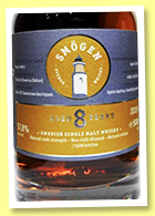 Smögen 8 yo 2011/2019 (57.8%, OB, Sweden, first fill Sauternes barriques, casks # 4 8-10/2011, 1628 bottles)
