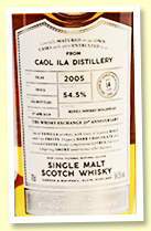 Caol Ila 14 yo 2005/2019 (54.5%, Gordon & MacPhail Connoisseur's Choice for The Whisky Exchange, cask #19/051, refill sherry hogshead, 142 bottles)