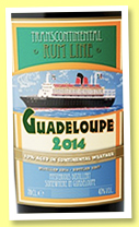 Guadeloupe 2014 (43%, Transcontinental Rum Line, +/-2018)