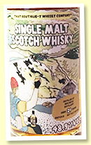 Ben Nevis 21 yo 'Batch 8' (48.9%, That Boutique-y Whisky Company, bottled 2018, sherry, 931 bottles)