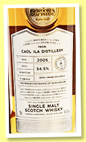 Caol Ila 14 yo 2005/2019 (54.5%, Gordon & MacPhail, Connoisseurs Choice for 20yh Anniversary of The Whisky Exchange, refill sherry hogshead, cask #19/51, 142 bottles)