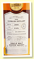 Clynelish 14 yo 2005/2019 (51.8%, Gordon & MacPhail, Connoisseurs Choice for The Whisky Exchange, cask #19/090, refill sherry hogshead, 224 bottles)