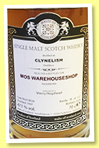 Clynelish 1997/2018 (47.1%, Malts of Scotland, for MoS Warehouse Shop, cask #MoS18026, sherry hogshead, 127 bottles)
