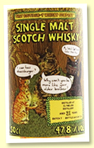 Clynelish 21 yo Batch 7 (47.8%, That Boutique-y Whisky Company, 1174 bottles)