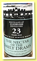 Clynelish 23 yo 1995/2019 (54.8%, The Nectar of the Daily Drams)