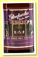 Glenfarclas 25 yo 'London Edition' (50.5%, OB, for The Whisky Exchange's 20th Anniversary, oloroso, 2019)