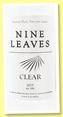 Nine Leaves 'Clear 2013' (50%, Japan, white)
