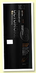 Octomore 8 yo 2010/2019 (56.9%, OB Edition 10.2 for Travel Retail, 1st fill barrels and ex-Sauternes, 24,000 bottles)