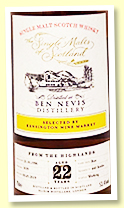 Ben Nevis 22 yo 1996/2019 (53.4%, The Single Malts of Scotland for Kensington Wine Market, butt, cask #1659, 440 bottles)