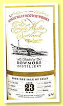 Bowmore 23 yo 1996/2020 (56.1%, The Single Malts of Scotland, Elixir Distillers, sherry butt, cask #960014, 634 bottles)