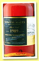 Bowmore 30 yo 1989/2020 (50%, Wemyss Malts, Black Gold, sherry hogshead, 175 bottles)