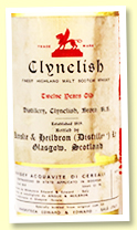 Clynelish 12 yo (56.9%, OB for Edward & Edward, rotation 1969)