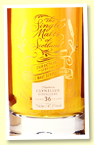 Clynelish 36 yo (47.1%, The Single Malts of Scotland for The Whisky Show Old & Rare, Director's Cut, 2020)