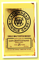 Glen Grant 25 yo 1992/2018 (50.4%, Cadenhead, Single Cask, bourbon barrel, 144 bottles)