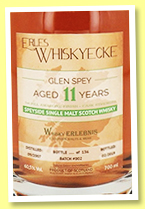 Glen Spey 11 yo 2007/2019 (60.5%, Whiskyecke, 1st fill amarone finish, batch #2, 136 bottles)