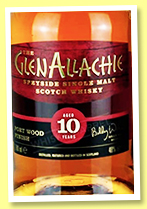 Glenallachie 10 yo 'Port Wood Finish' (48%, OB, +/-2019)
